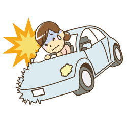 交通事故のイラスト|高砂市まえかわ整骨院